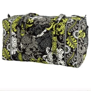 Vera Bradley Large Duffel in Baroque pattern used